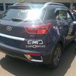 Hyundai Creta taillights diesel spied