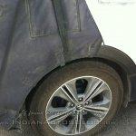 Hyundai Creta wheel spied Noida