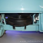 Mahindra Jeeto Launch L6-11 spare tire