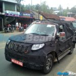 Mahindra U301 front three quarter snapped in Kerala