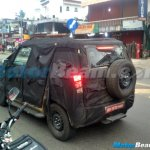 Mahindra U301 rear three quarter snapped in Kerala
