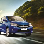 Maruti Celerio diesel front quarter press shots