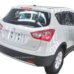 Maruti S-Cross rear India-spec