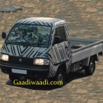 Maruti Super Carry front spied