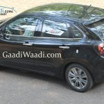 Maruti YRA rear quarter spied revealingly