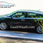 Maruti YRA side spied revealingly