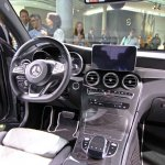 Mercedes GLC dashboard live images