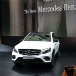 Mercedes GLC front live images