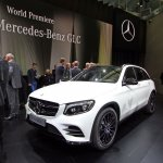 Mercedes GLC front quarter live images