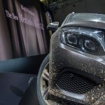 Mercedes GLC headlight live images