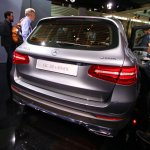 Mercedes GLC plug in rear live images