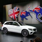 Mercedes GLC profile live images