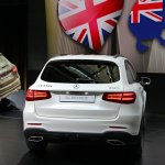 Mercedes GLC rear end live images