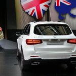 Mercedes GLC rear live images