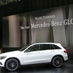 Mercedes GLC side live images