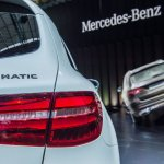 Mercedes GLC taillight live images