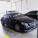 Mercedes S63 AMG coupe spied India