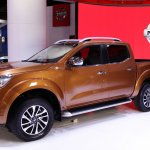 Nissan Frontier at the International Exhibition of Buenos Aires side