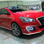 Suzuki Ciaz Custom front three quarters