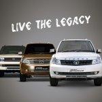 Tata Safari Storme facelift front fascia