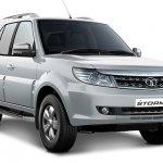Tata Safari Storme facelift front quarter
