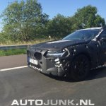 Volvo S90 front test prototype spied