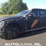 Volvo S90 front three quarter test prototype spied