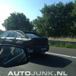 Volvo S90 rear test prototype spied