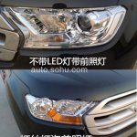2015 Ford Everest headlight China spied