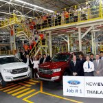 2015 Ford Everest start of production Thailand