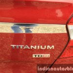 2015 Ford Figo Aspire Titanium 1.5 Diesel Titanium badging first drive review