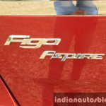 2015 Ford Figo Aspire Titanium 1.5 Diesel badging first drive review