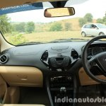 2015 Ford Figo Aspire Titanium 1.5 Diesel dashboard first drive review
