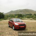 2015 Ford Figo Aspire Titanium 1.5 Diesel front quarter first drive review