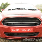 2015 Ford Figo Aspire Titanium 1.5 Diesel grille first drive review