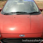 2015 Ford Figo Aspire Titanium 1.5 Diesel hood first drive review