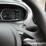 2015 Ford Figo Aspire Titanium 1.5 Diesel indicator stalk first drive review