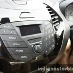 2015 Ford Figo Aspire Titanium 1.5 Diesel infotainment buttons first drive review