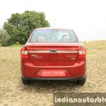 2015 Ford Figo Aspire Titanium 1.5 Diesel rear first drive review