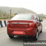 2015 Ford Figo Aspire Titanium 1.5 Diesel rear quarter tracking first drive review