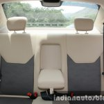 2015 Ford Figo Aspire Titanium 1.5 Diesel rear seats first drive review