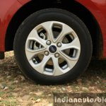 2015 Ford Figo Aspire Titanium 1.5 Diesel rims first drive review