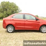 2015 Ford Figo Aspire Titanium 1.5 Diesel side first drive review