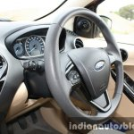 2015 Ford Figo Aspire Titanium 1.5 Diesel steering wheel side first drive review