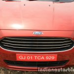 2015 Ford Figo Aspire Titanium 1.5 Diesel upper front end first drive review