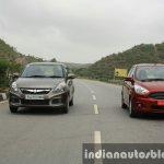 2015 Ford Figo Aspire Titanium 1.5 Diesel with Maruti Swift Dzire first drive review