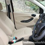 2015 Ford Figo Aspire Titanium Plus 1.2 Petrol front cabin first drive review