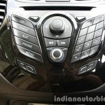 2015 Ford Figo Aspire Titanium Plus 1.2 Petrol infotainment buttons first drive review