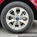 2015 Ford Figo Aspire Titanium Plus Petrol alloy rim first drive review