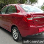 2015 Ford Figo Aspire Titanium Plus Petrol rear quarter first drive review